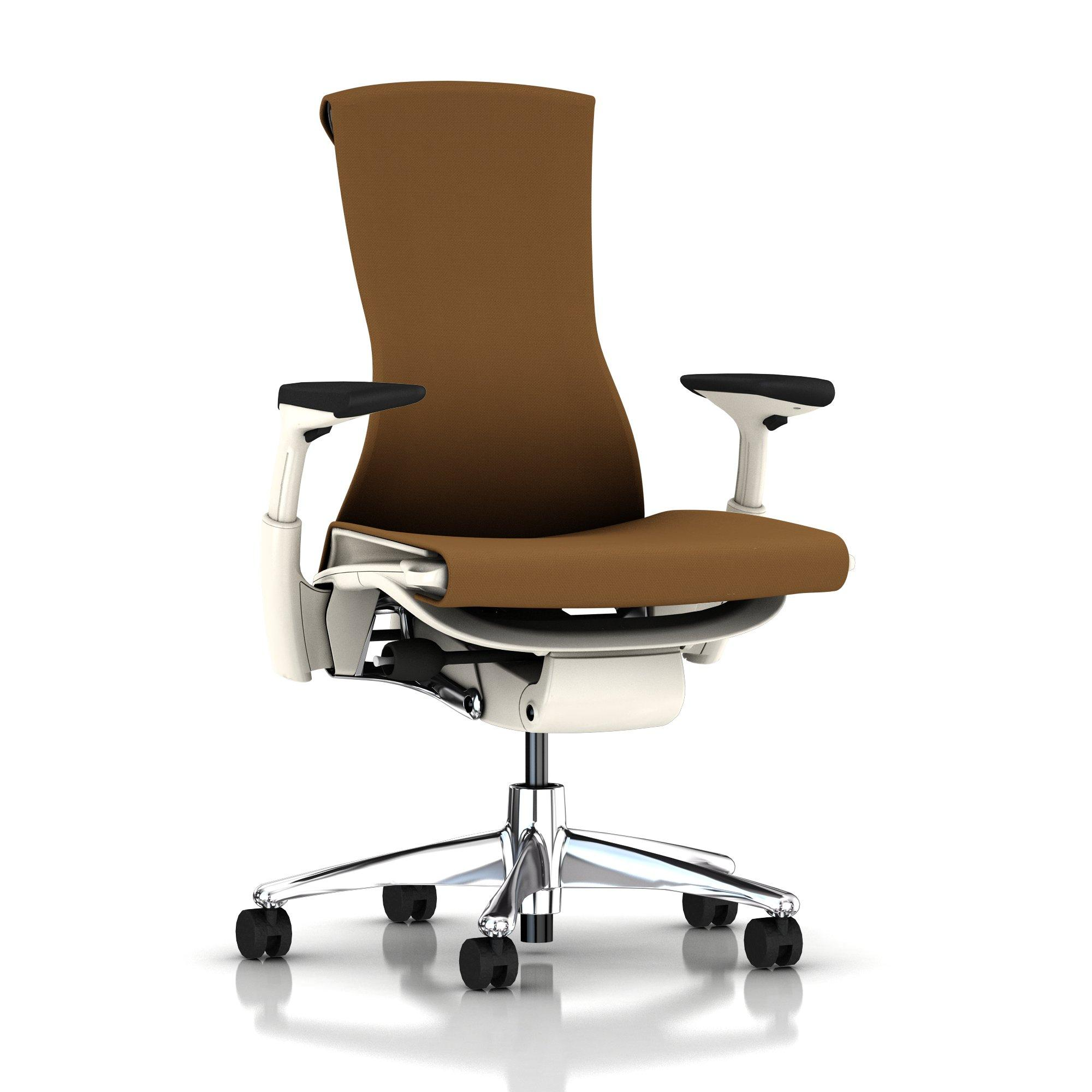 Herman Miller Embody Chair Molasses Rhythm With White