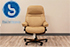 Stressless Sunrise Paloma Leather Office Desk Chair