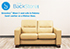Wave Stressless LoveSeat Sofa in Paloma Sand Leather