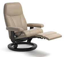 Stressless Consul Power LegComfort Classic Recliner Chair