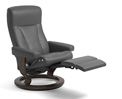 Stressless President Power LegComfort Classic Recliner Chair