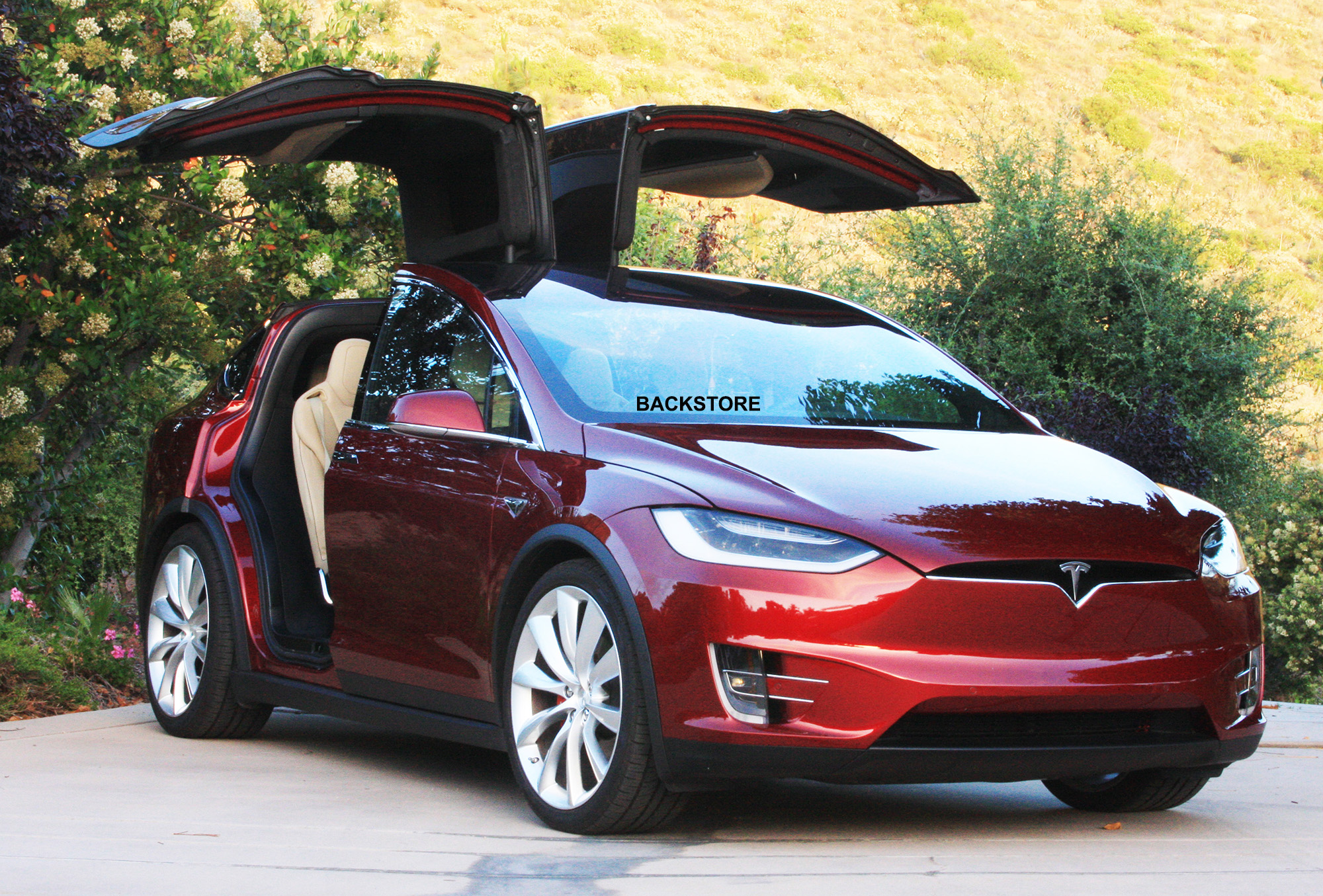 2016 Tesla Model X P90DL Founders Edition - Signature Red