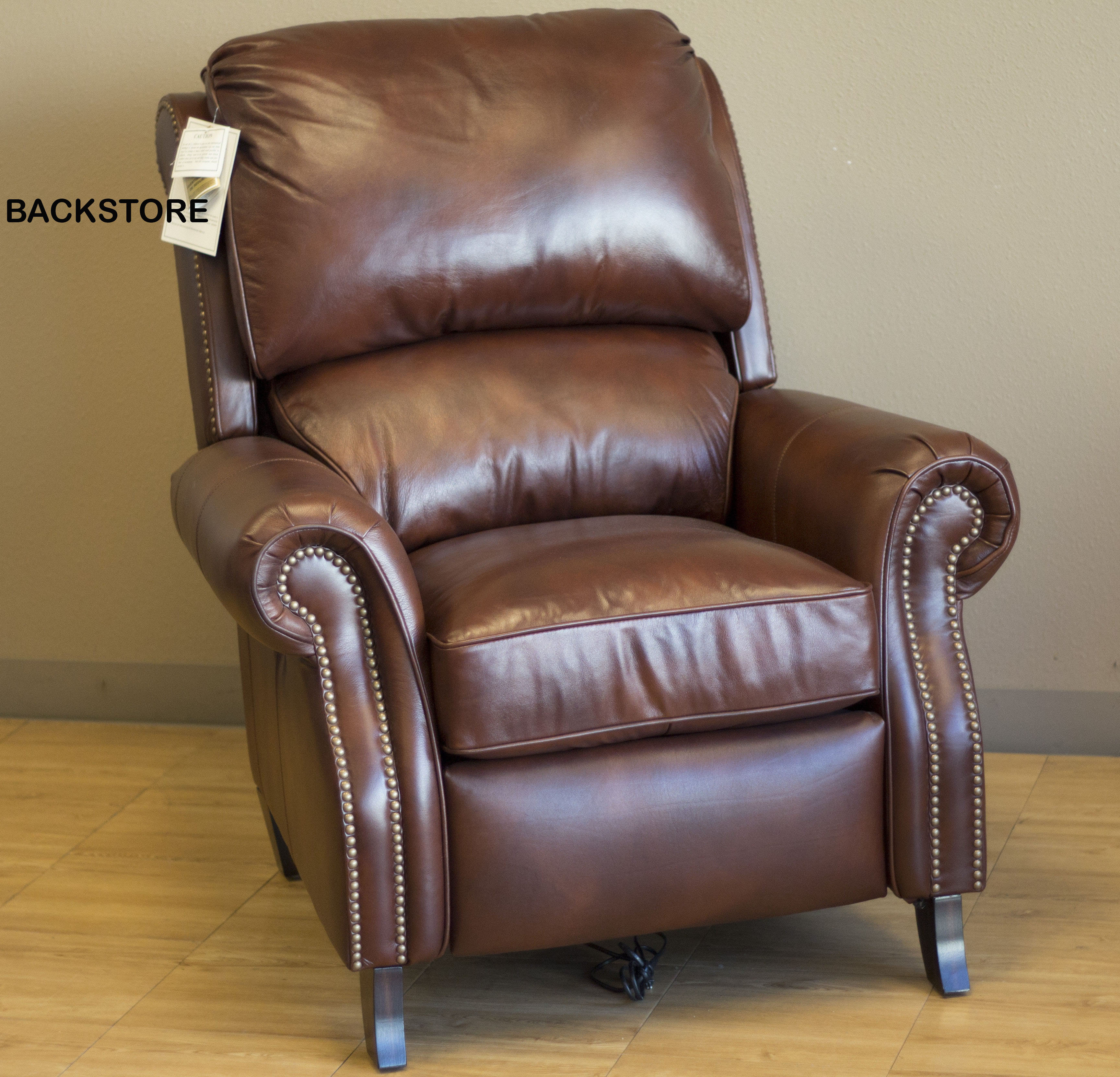 Barcalounger Churchill II Recliner Chair - Leather Recliner Chair ...