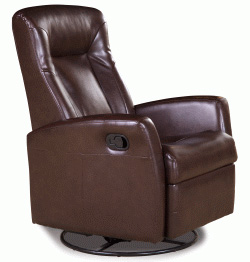 Barcalounger Eclipse II Leather Recliner Chair and Ottoman  sc 1 st  Vitalityweb.com & Barcalounger Grissom II Swivel Glider Recliner Chair - Leather ... islam-shia.org