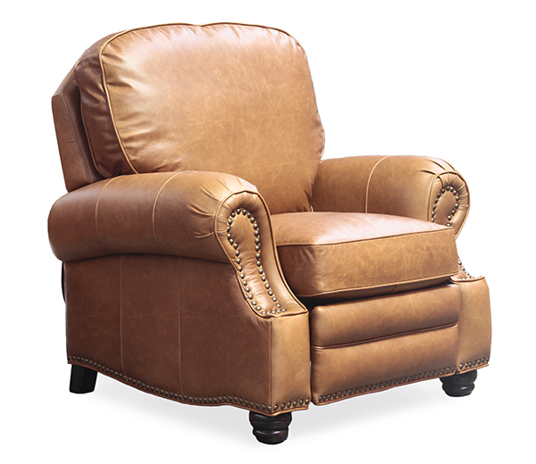 BarcaLounger LongHorn II Reclinier 7-4727 - Saddle Top Grain Leather 5401-16 -  sc 1 st  Vitalityweb.com & Barcalounger Longhorn II Leather Recliner Chair - Leather Recliner ... islam-shia.org