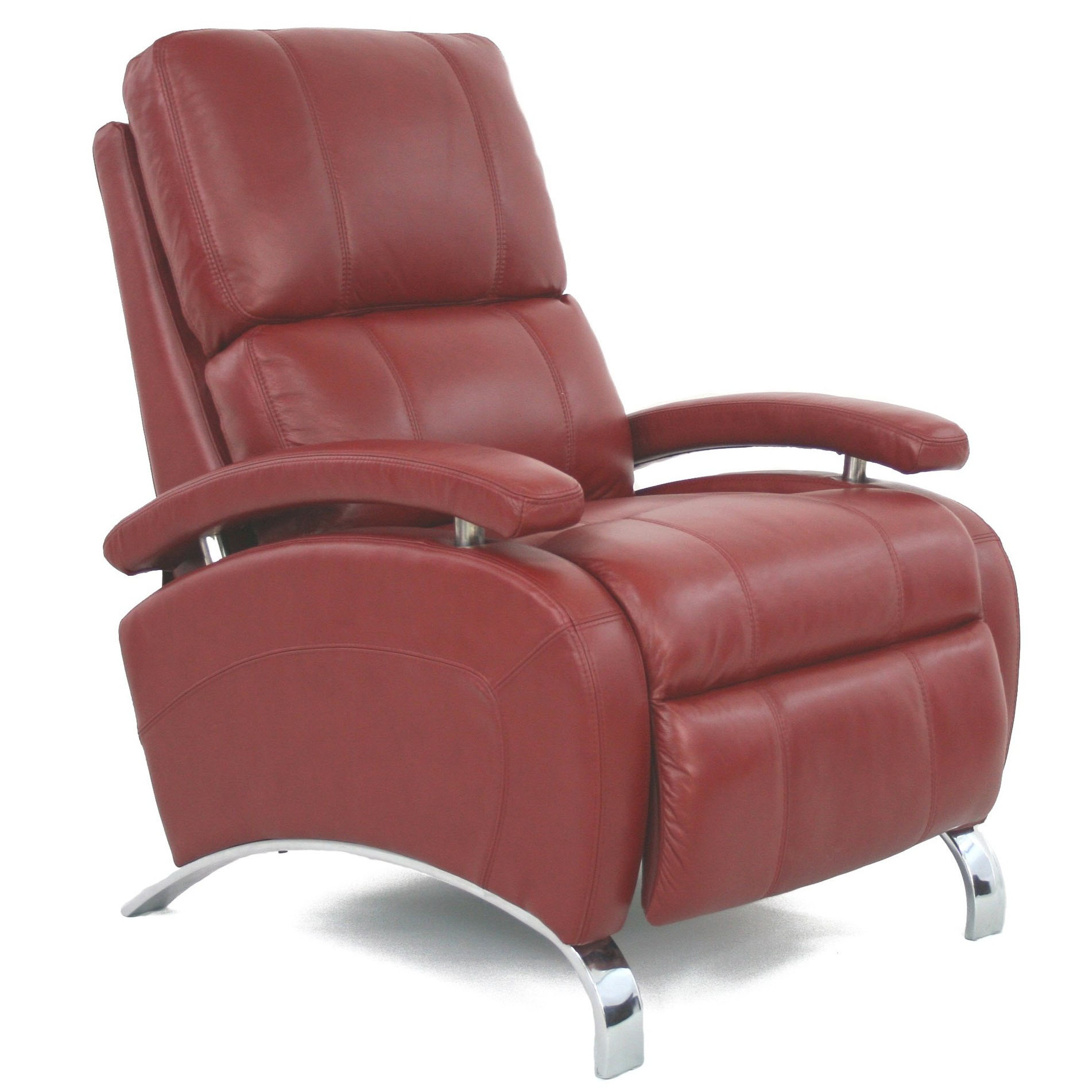 Barcalounger Oracle II Recliner Chair Red Leather  sc 1 st  Vitalityweb.com & Barcalounger Oracle II Recliner Chair - Leather Recliner Chair ... islam-shia.org