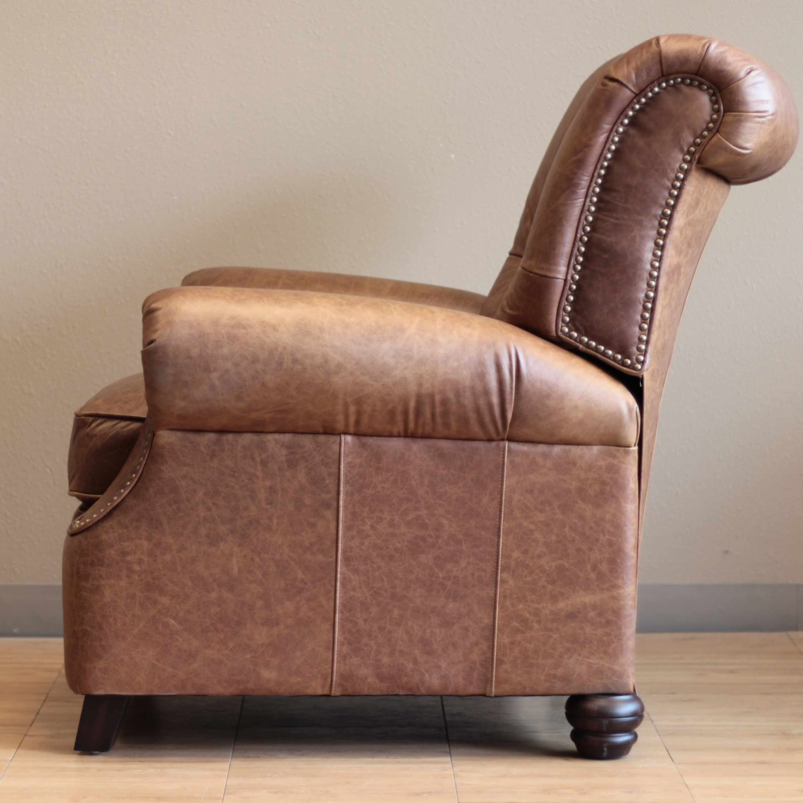 Barcalounger Phoenix II Recliner Chair - Leather Recliner Chair ...