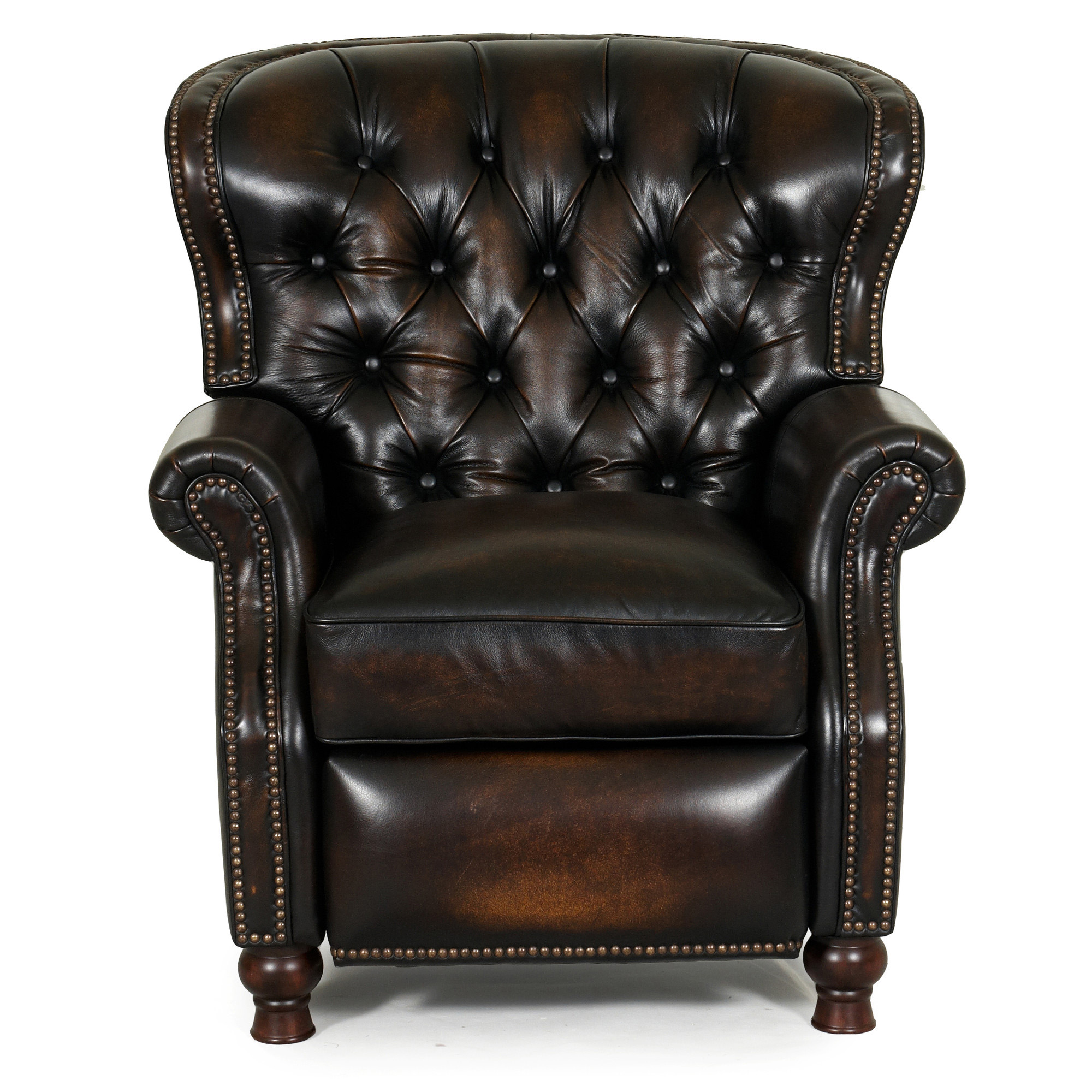 Barcalounger Presidential II Leather Recliner Chair - Leather ...