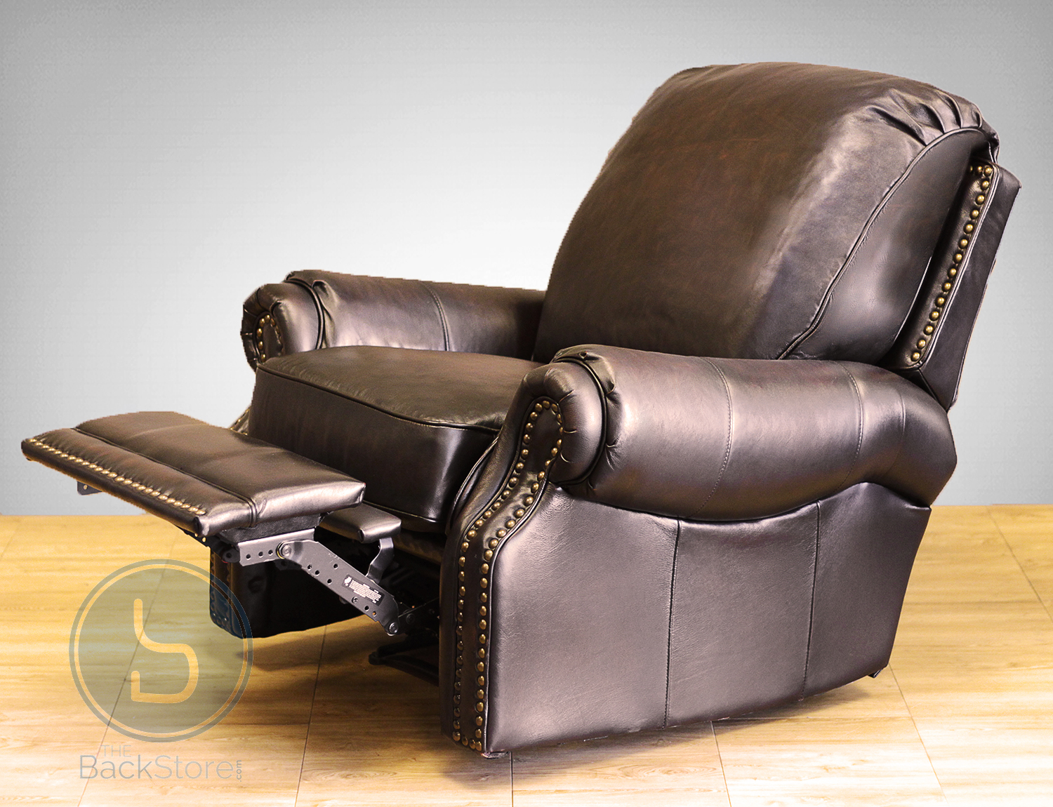Barcalounger Premier II Recliner Chair Chaps Saddle Leather & Barcalounger Premier II Leather Recliner Chair - Leather Recliner ... islam-shia.org