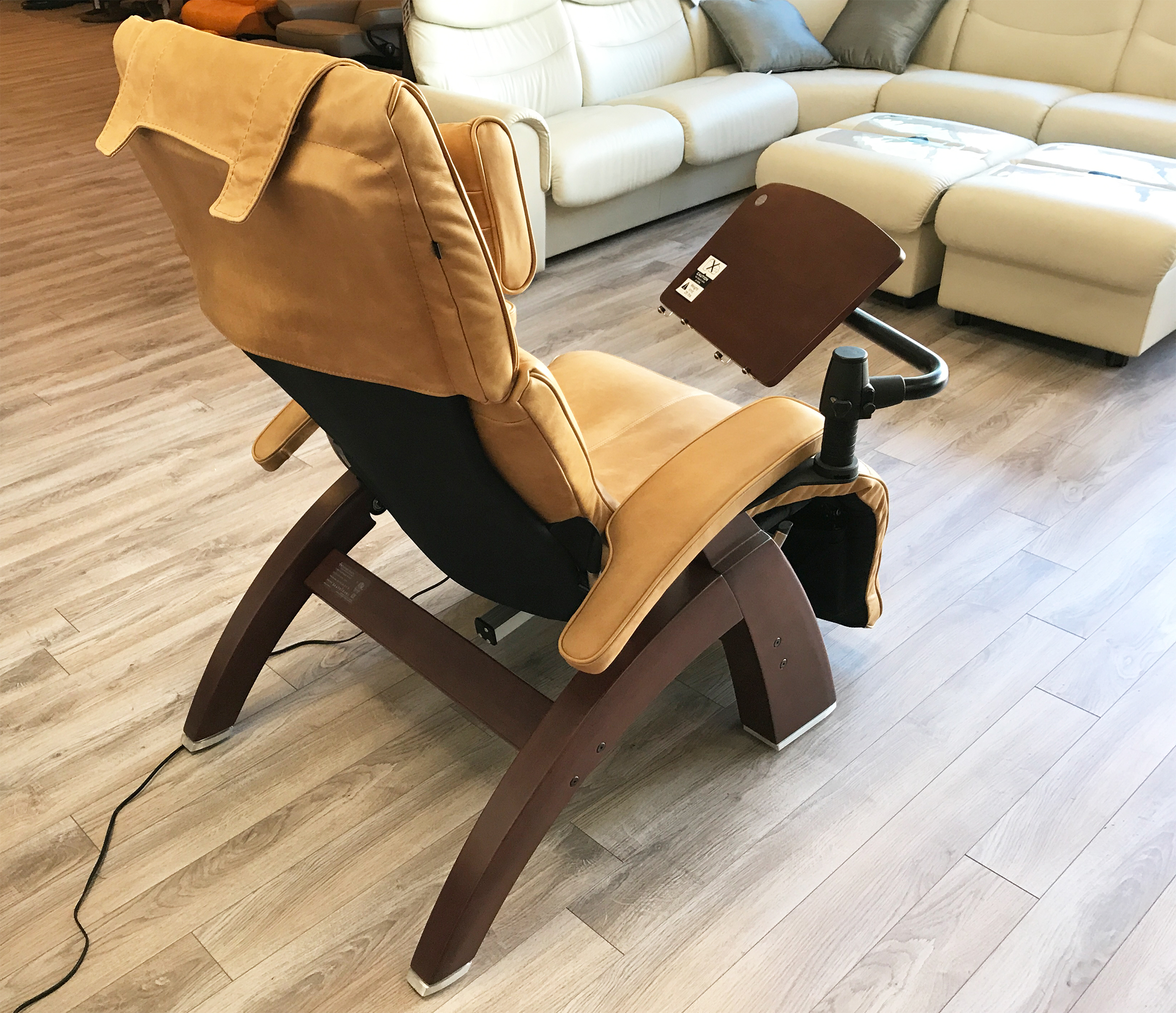 Human Touch PC LapTop Computer Table For The Perfect Zero Gravity Recliner  Chair