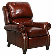 Barcalounger Leather Recliner Chair Lounge Chair