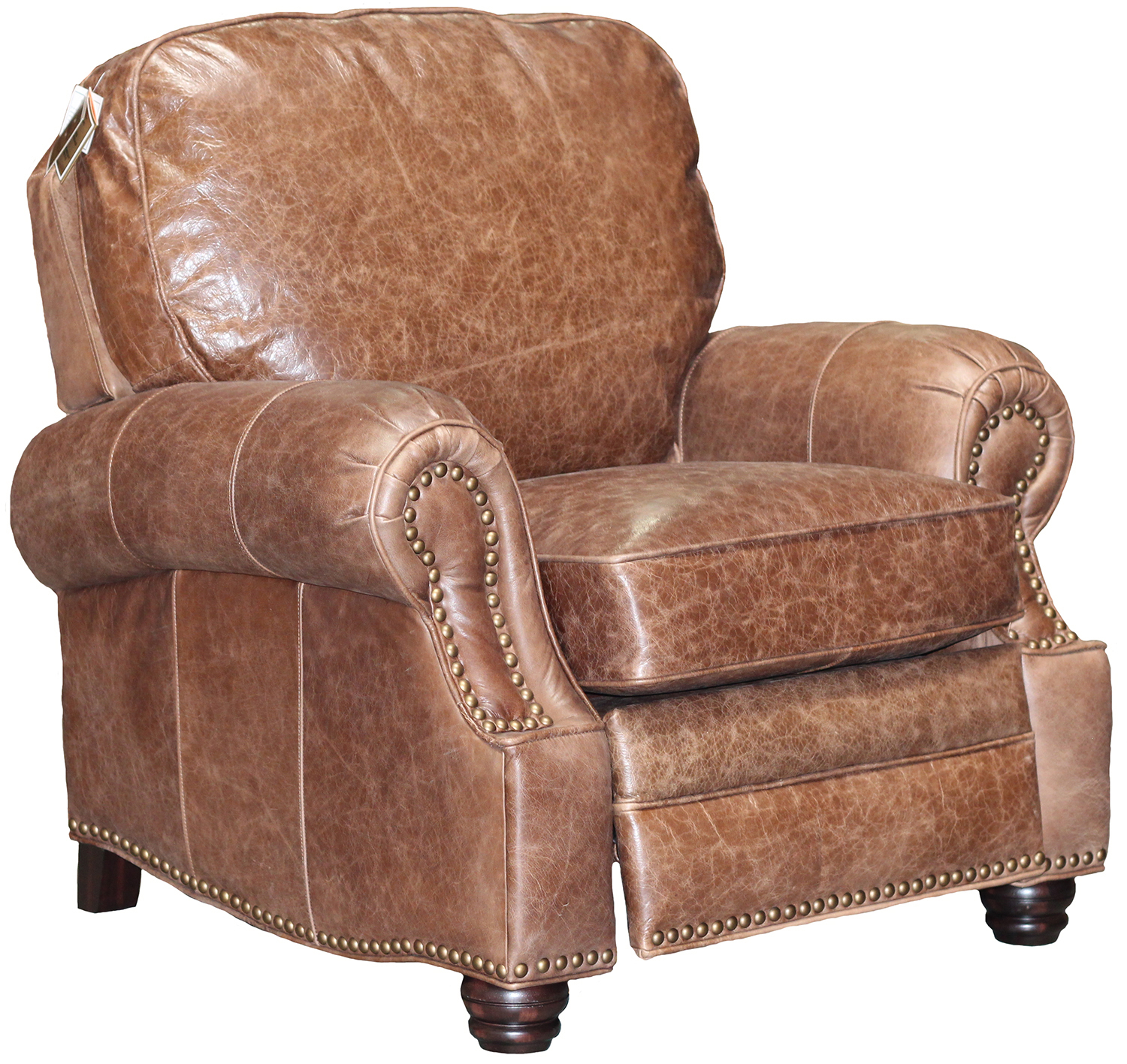 Barcalounger Longhorn Ii Leather Recliner Chair Leather