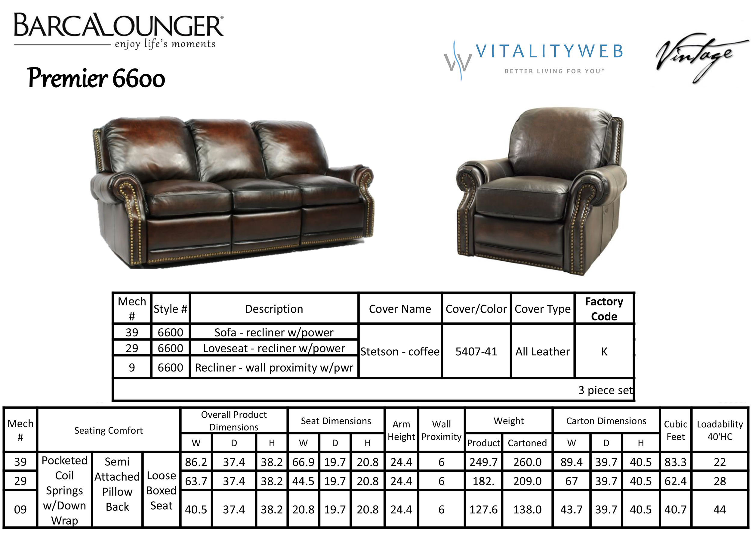 Barcalounger Premier II Leather Recliner Chair Leather Recliner