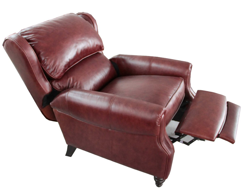 Barcalounger Treyburn Ii Top Grain Leather Recliner Chair