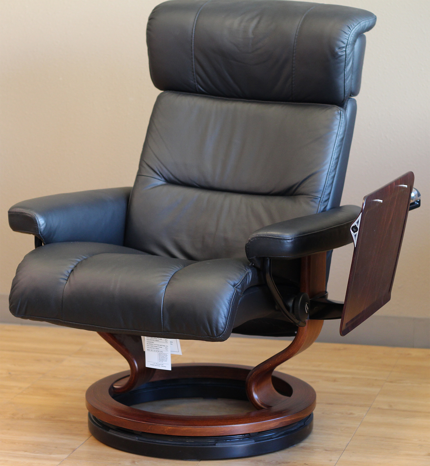 Stressless recliner elevator ring for ekornes chairs for Chair recliner