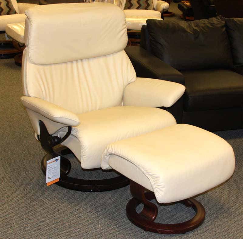 Stressless Spirit Large Recliner Chair Ergonomic Lounger