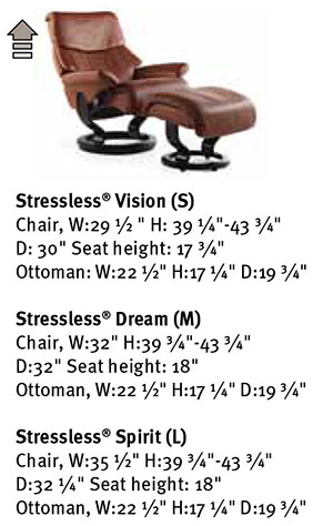 stressless dream royalin tigereye leather by ekornes. Black Bedroom Furniture Sets. Home Design Ideas