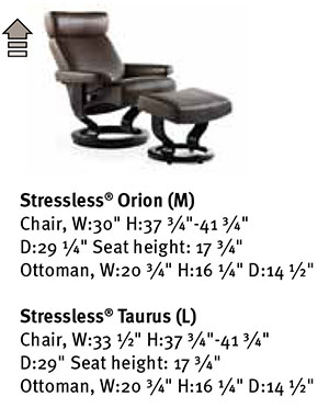 Ekornes Stressless Orion Taurus Recliner Chair Lounger