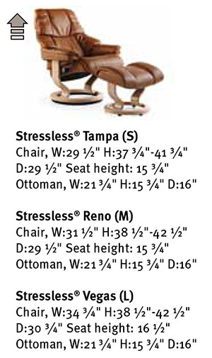 Stressless Reno Chair Recliner Dimensions