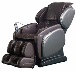 Brown Osaki OS-4000CS Zero Gravity Massage Chair Recliner