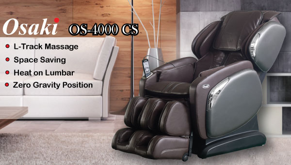 Osaki OS-4000CS Zero Gravity Massage Chair Recliner