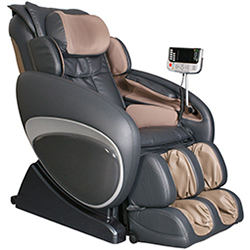 Charcoal Osaki OS-4000T Zero Gravity Massage Chair Recliner