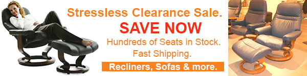 Stressless Showroom Clearance Sale - Recliners and Sofas