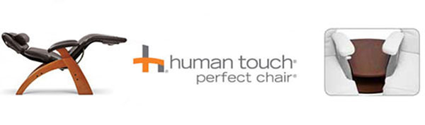 Human Touch Perfect Chair Recliner Premium Leather Upgrade Sale