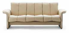 Stressless Soul Low Back Sofa, LoveSeat, Chair and Sectional by Ekornes