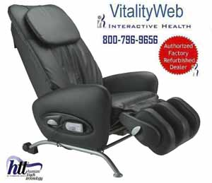 Sharper Image HT-270 Stretching Human Touch Robotic Massage Chair