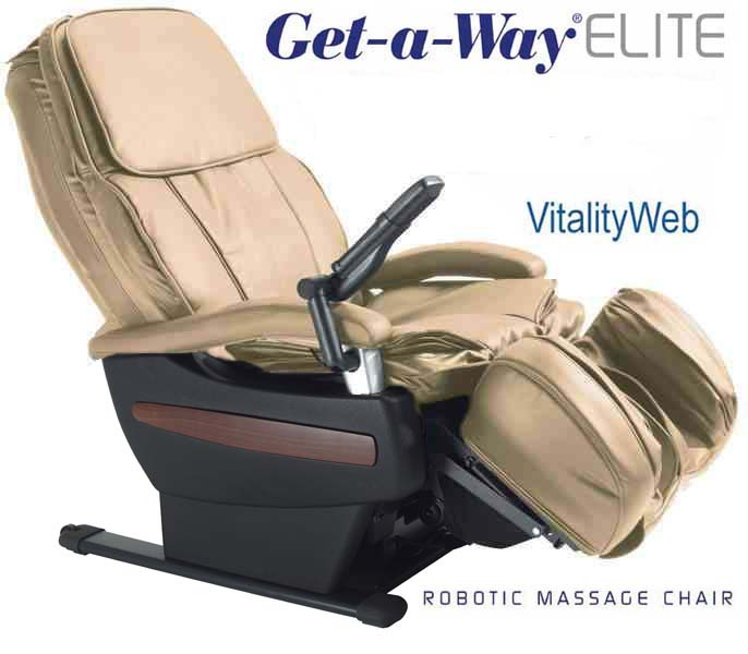 GET A WAY RMS 10 Elite Robotic Home Massage Chair By Interactive Health Zer