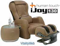 NEW IJoy 130 Robotic Human Touch Massage Chair Recliner By Interactive Health