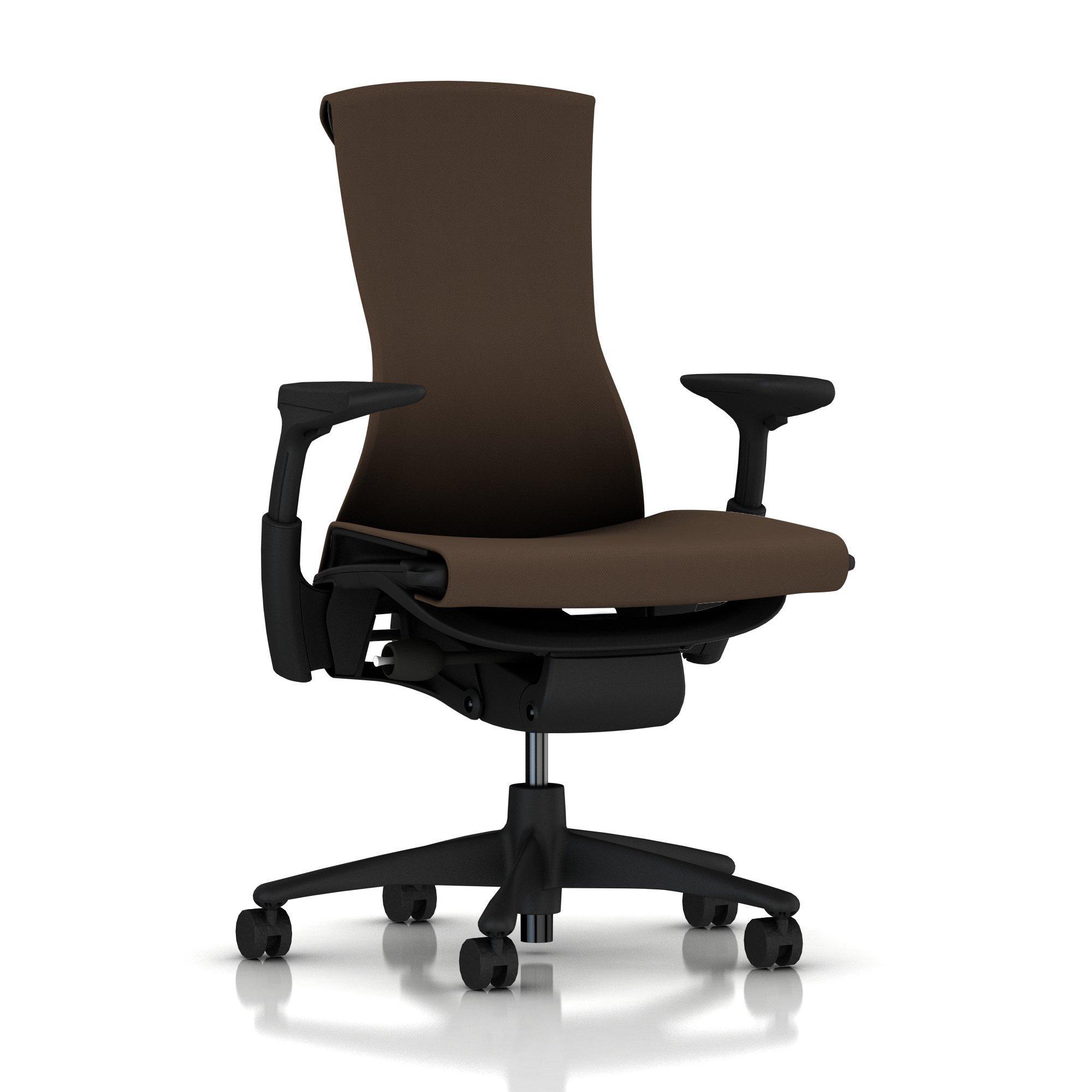 Herman Miller Embody Chair Mink Rhythm With Graphite Frame