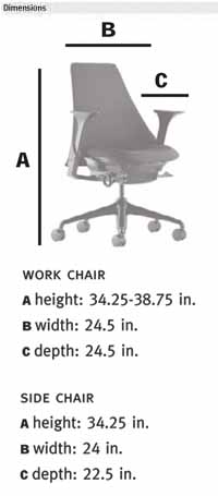Herman Miller Sayl Home Office Chair Ergonomic Seating