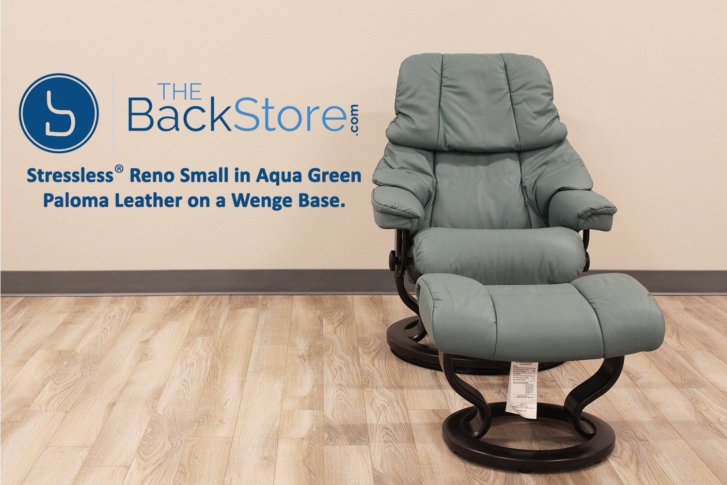 Stressless T&a Small Reno Paloma AquaGreen Leather Recliner Chair by Ekornes & Stressless Tampa Small Reno Paloma AquaGreen Leather Recliner ... islam-shia.org