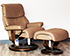 Stressless Capri Recliner Chair in Funghi Leather by Ekornes