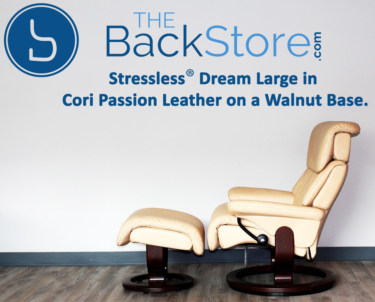 Stressless Dream Medium Cori Passion Leather by Ekornes