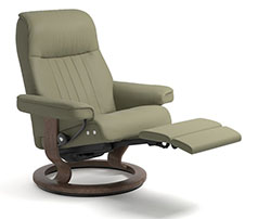 Stressless Crown Power LegComfort Classic Recliner Chair