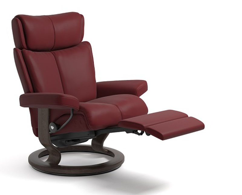 Stressless Magic Power Legcomfort Classic Wood Base
