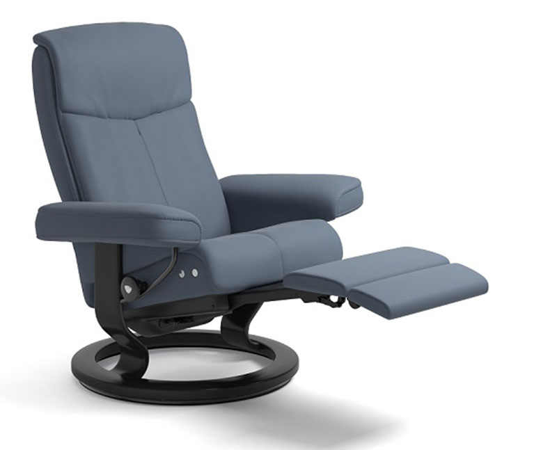 Stressless Peace LegComfort Power Extending Footrest with Classic Wood Base  sc 1 st  Vitalityweb.com & Stressless Peace Power LegComfort Recliner Chair by Ekornes ... islam-shia.org