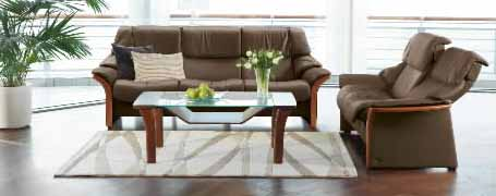 Granada Low Back Sofa, LoveSeat, Chair And Sectional By Ekornes