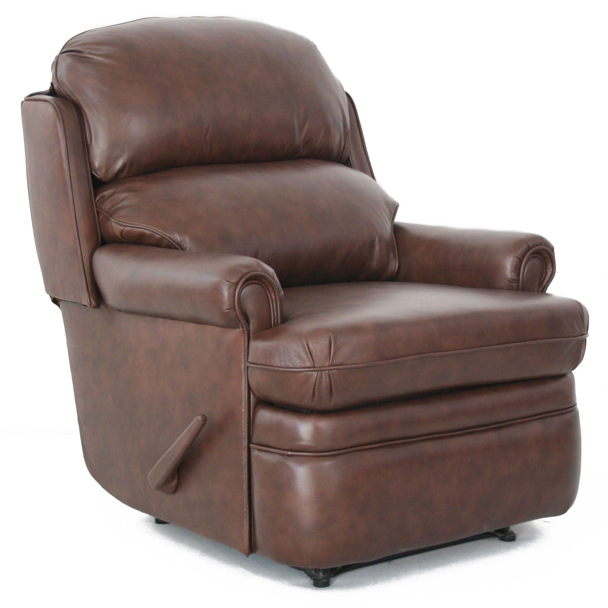 Barcalounger Capital Club Ii Wall Hugger Recliner Chair Leather Recliner Chair Furniture