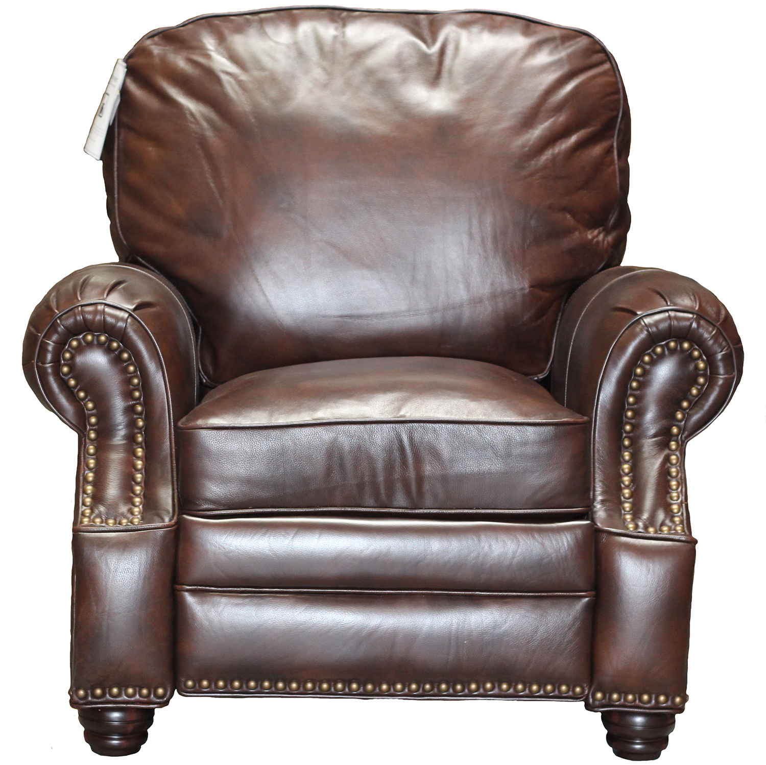 Barcalounger Longhorn II Leather Recliner Chair