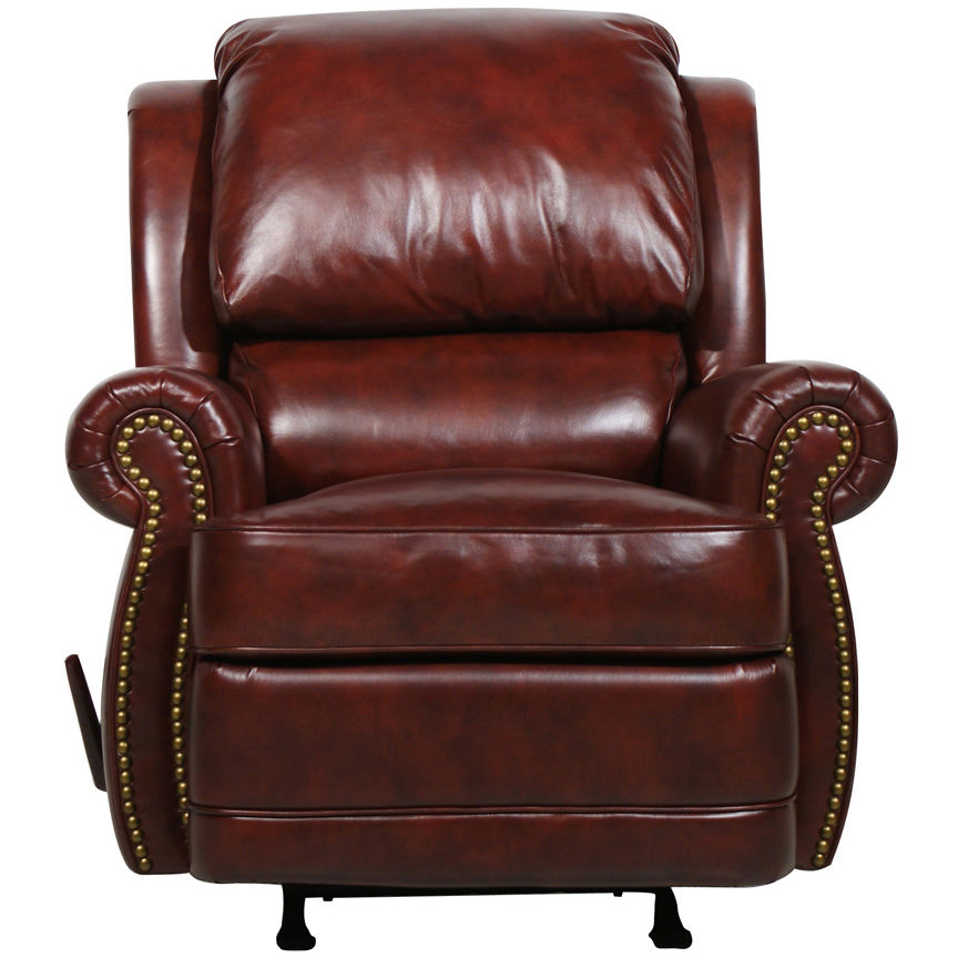 Barcalounger Regency Ii Leather Recliner Chair Leather