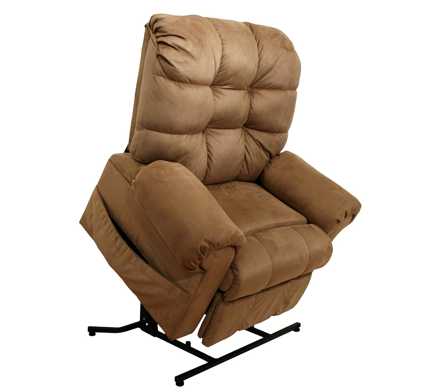 and fabric power room chair suede duty with living heavy in recliners lift reclining recliner mechanism