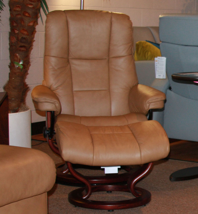 Stressless Paloma Taupe 09484 Leather By Ekornes