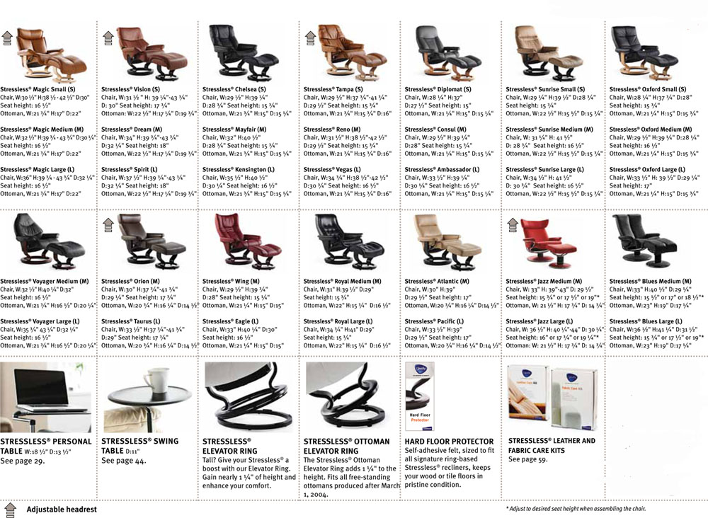 Stressless Recliner Chair Dimensions  sc 1 st  Vitalityweb.com & Ekornes Stressless Recliner and Sofa Sizes / Dimensions - Recliner ... islam-shia.org