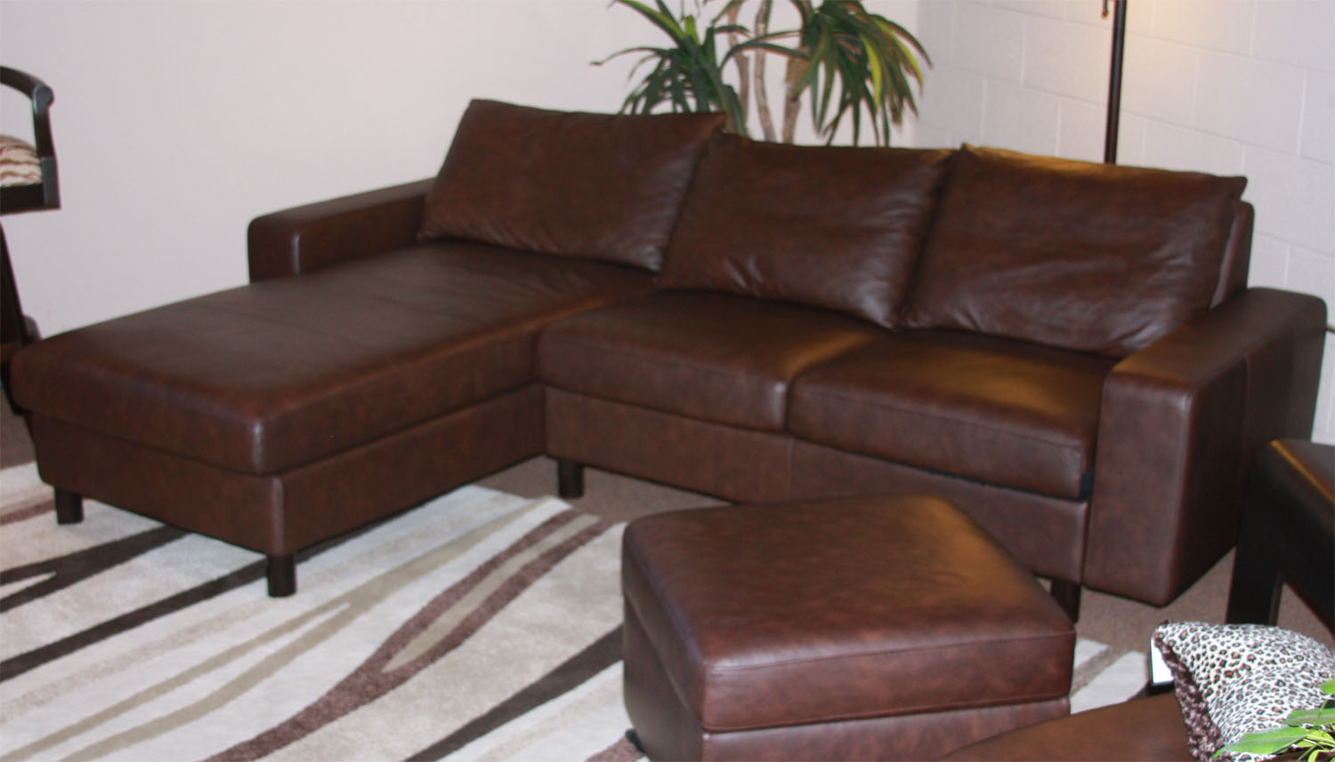 Stressless Paloma Chocolate Leather Color Sofa From Ekornes