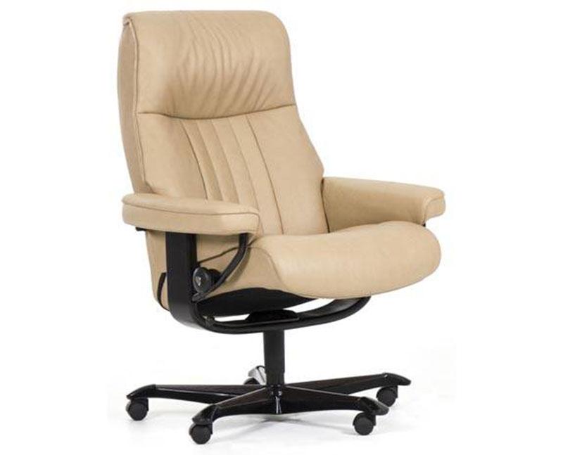 Stressless Crown Office Desk Chair Recliner Chair by Ekornes  sc 1 st  Vitalityweb.com & Stressless Crown LegComfort Power Footrest Recliner Chair ... islam-shia.org