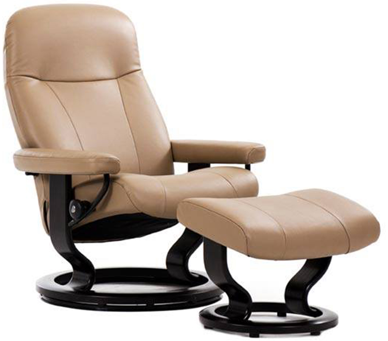 Stressless Garda Classic Hourglass Wood Base  sc 1 st  Vitalityweb.com & Stressless Garda Recliner Chair and Ottoman by Ekornes. Garda ... islam-shia.org